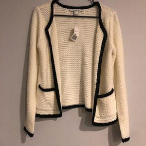 NWT forever 21 knitted cardigan/blazer